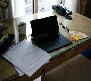 Bonheur écrire