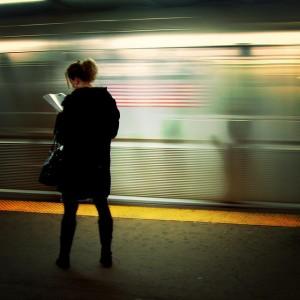 lecture dans le métro